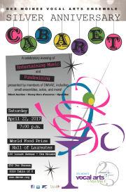DMVAE's Annual Cabaret and Fundraiser